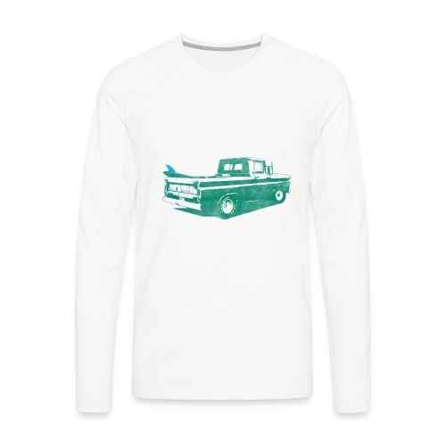 Vintage Surf Truck2 - Men's Premium Long Sleeve T-Shirt