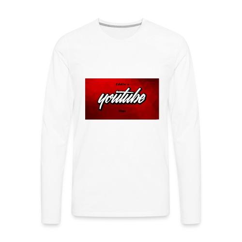 Ecams Merch - Men's Premium Long Sleeve T-Shirt