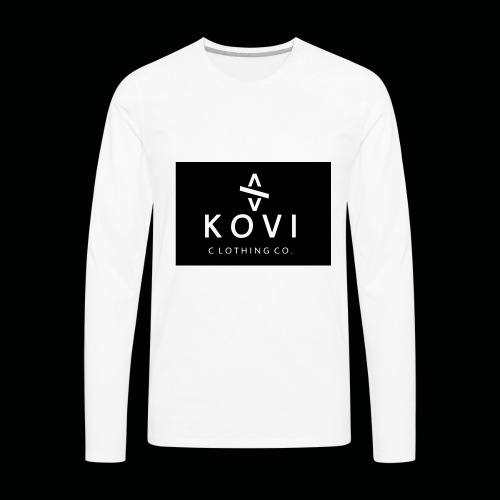 Kovi Print - Men's Premium Long Sleeve T-Shirt
