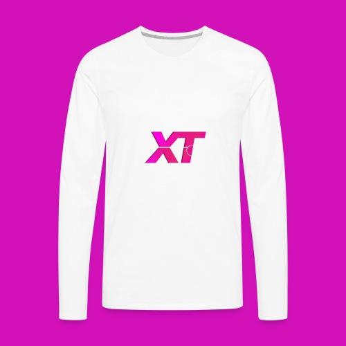 ExTendo Logo - Men's Premium Long Sleeve T-Shirt