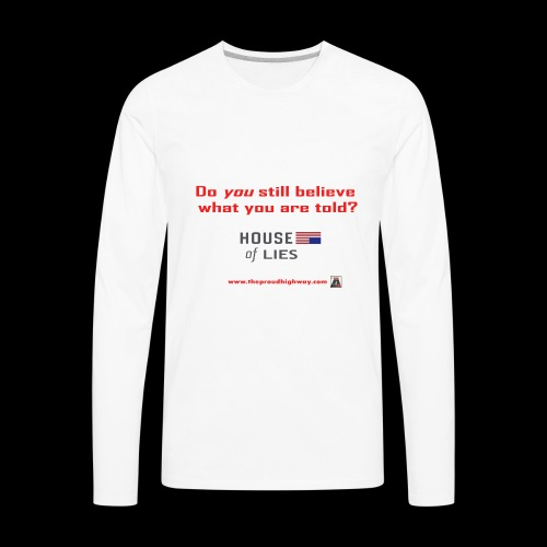 House of Lies - Men's Premium Long Sleeve T-Shirt