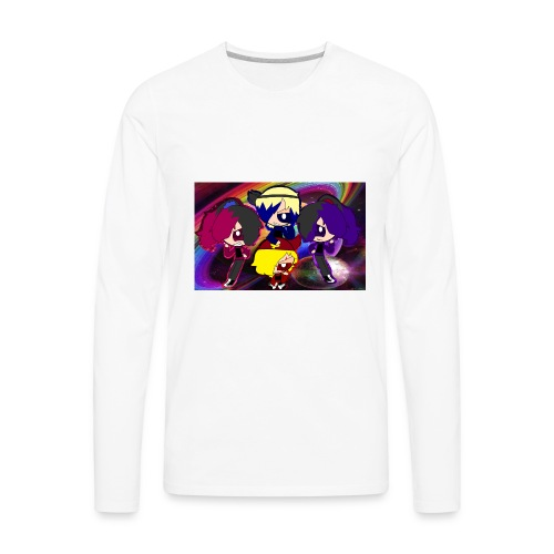 ruwdyrock girl - Men's Premium Long Sleeve T-Shirt