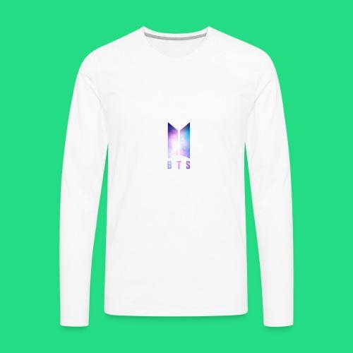 Galaxy BTS Bangtan Sonyeondan Logo - Men's Premium Long Sleeve T-Shirt