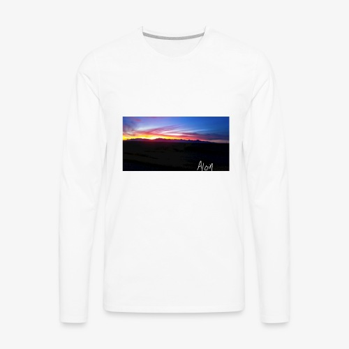 Aloin - Men's Premium Long Sleeve T-Shirt