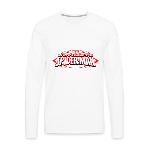 T-shirt with spiderman style - Men's Premium Long Sleeve T-Shirt