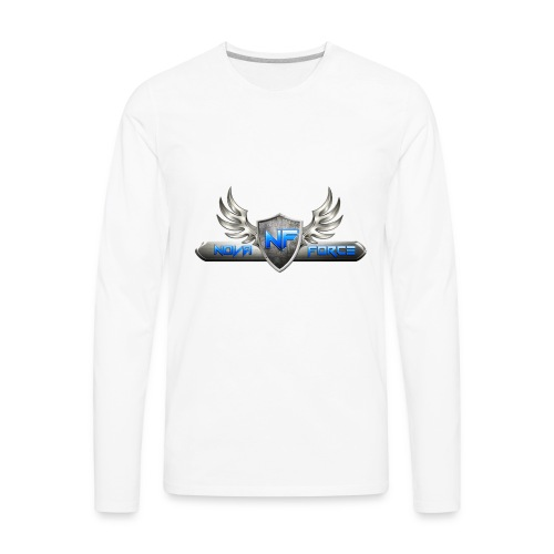 Nova Force Logo - Men's Premium Long Sleeve T-Shirt