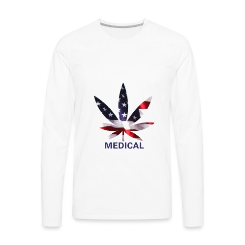 USA Medical - Men's Premium Long Sleeve T-Shirt