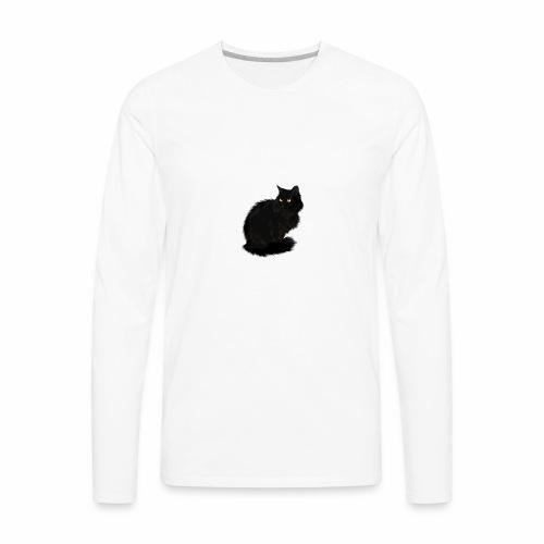 Lexie the cat Jim Jim shirt - Men's Premium Long Sleeve T-Shirt