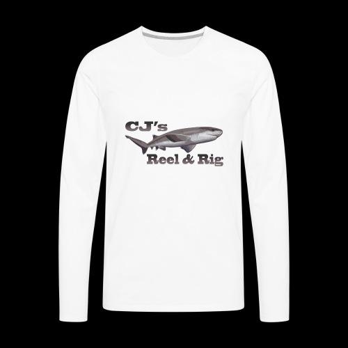 CJs Reel and Rig - Men's Premium Long Sleeve T-Shirt