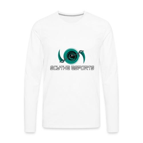 HighResScytheLogoWithType - Men's Premium Long Sleeve T-Shirt