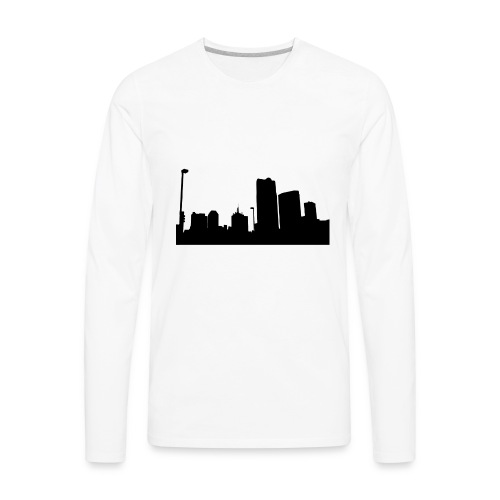 Urban City - Men's Premium Long Sleeve T-Shirt