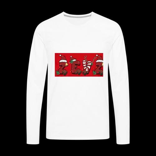 zevz chris mas merch - Men's Premium Long Sleeve T-Shirt