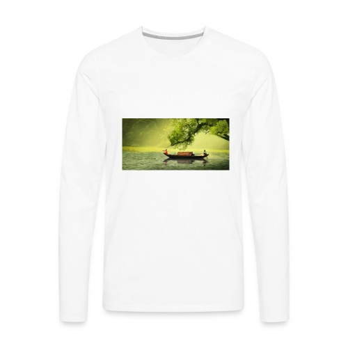 natural pic t shirt - Men's Premium Long Sleeve T-Shirt