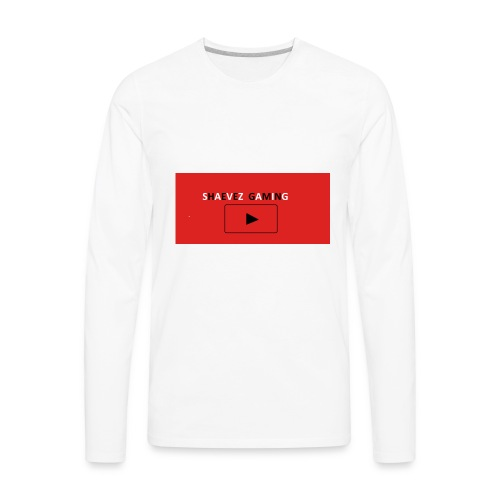 SHAEVEZ GAMING - Men's Premium Long Sleeve T-Shirt
