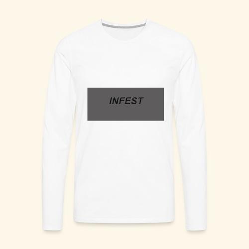 INFEST CLOTHING DESIGN - Men's Premium Long Sleeve T-Shirt