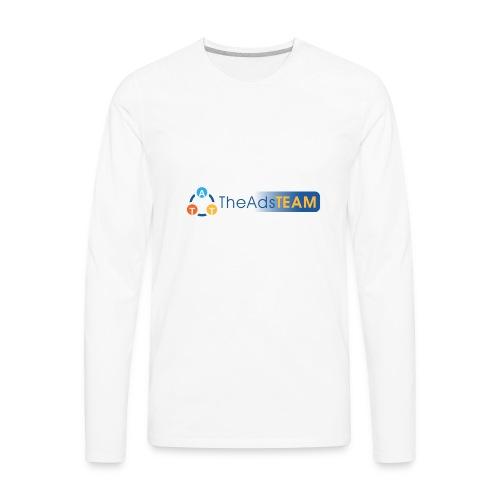 TheAdsTeam Logo - Men's Premium Long Sleeve T-Shirt