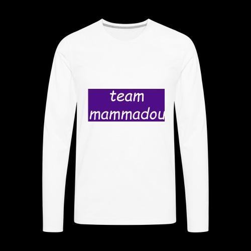 team mammadou! - Men's Premium Long Sleeve T-Shirt