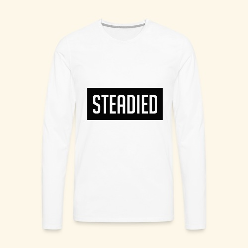 The Steadied Car Official Spread Design - Men's Premium Long Sleeve T-Shirt