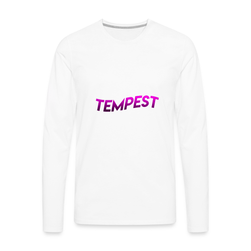 FIRE TEMPEST MERCH! - Men's Premium Long Sleeve T-Shirt