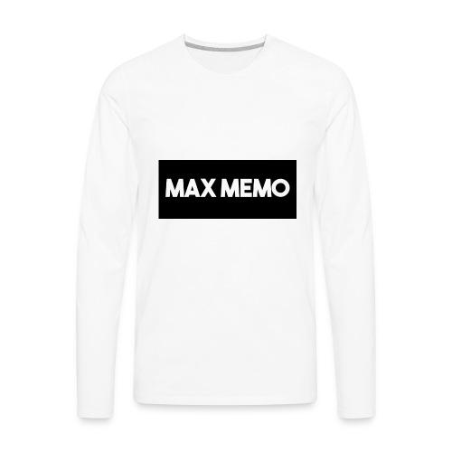 MaxMemo - Men's Premium Long Sleeve T-Shirt