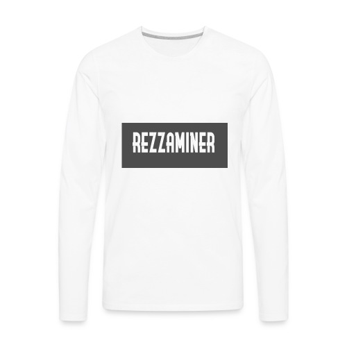 rezzaminer tshirts - Men's Premium Long Sleeve T-Shirt