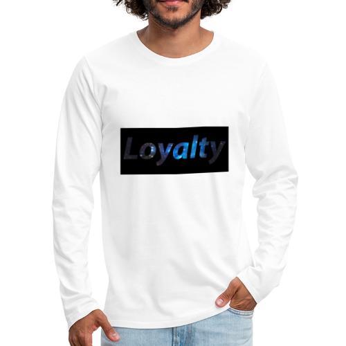 Galaxy Theme - Men's Premium Long Sleeve T-Shirt