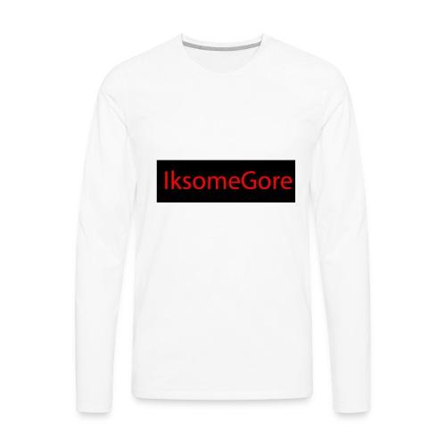 IksomeGore T-shirt 2 - Men's Premium Long Sleeve T-Shirt