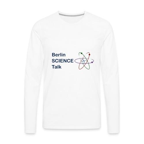 Berlin Science Talk - Men's Premium Long Sleeve T-Shirt