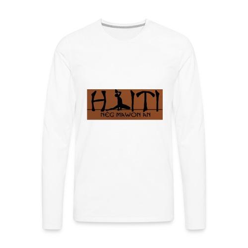 Neg Mawon an Haiti - Men's Premium Long Sleeve T-Shirt