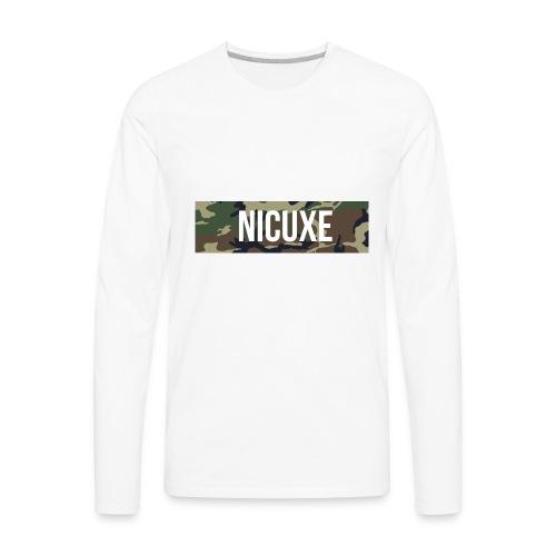 Nicuxe Brand Co. | 2017 Style & Gucci - Men's Premium Long Sleeve T-Shirt