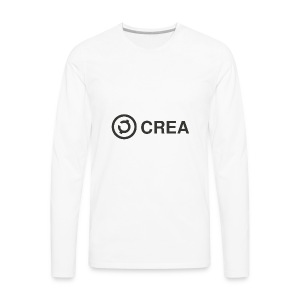 logo + CREA - Men's Premium Long Sleeve T-Shirt