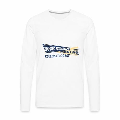 Rock Steady Boxing, Emerald Coast - Men's Premium Long Sleeve T-Shirt