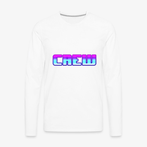 THE CREW SYMBLOY - Men's Premium Long Sleeve T-Shirt