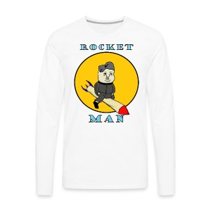 Rocket Man - Men's Premium Long Sleeve T-Shirt