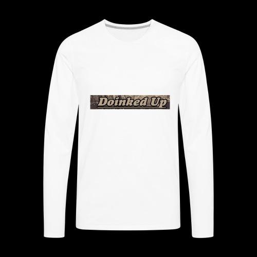 Doinked Up OG - Men's Premium Long Sleeve T-Shirt