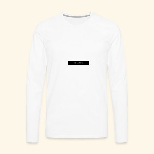 Shop Men - Men's Premium Long Sleeve T-Shirt