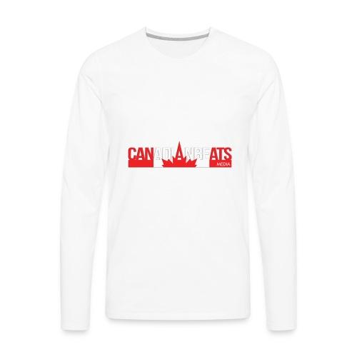 Canadian Beats Logo - Men's Premium Long Sleeve T-Shirt