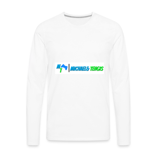 Michael and Tengis - Men's Premium Long Sleeve T-Shirt