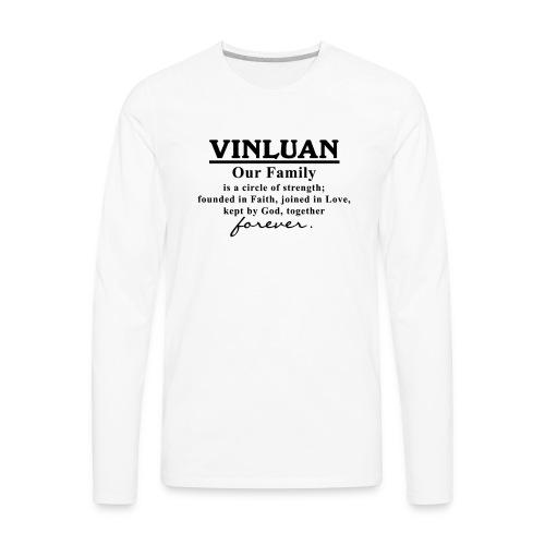 Vinluan Family 01 - Men's Premium Long Sleeve T-Shirt