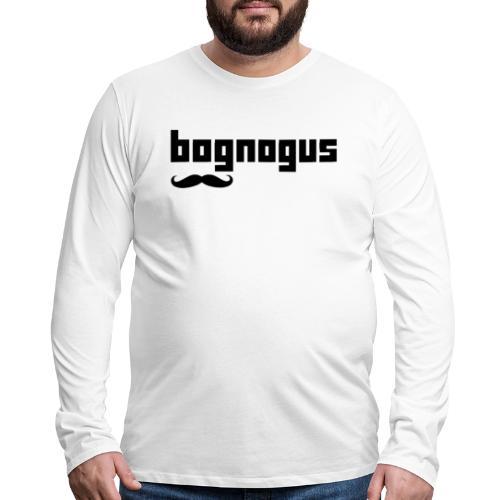 bognogus in black - Men's Premium Long Sleeve T-Shirt