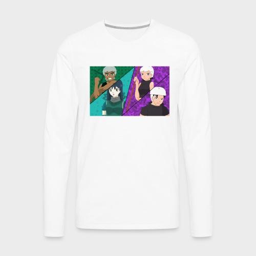 moha_team - Men's Premium Long Sleeve T-Shirt