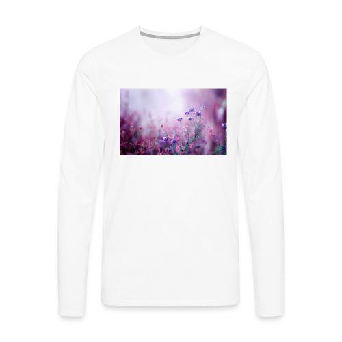 Life's field of flowers - Men's Premium Long Sleeve T-Shirt