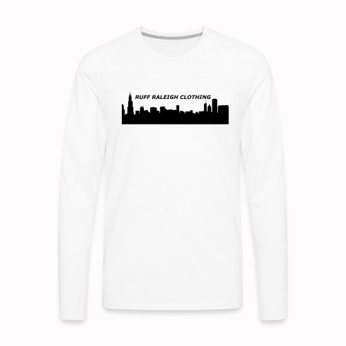 Ruff Raleigh Clo. - Men's Premium Long Sleeve T-Shirt