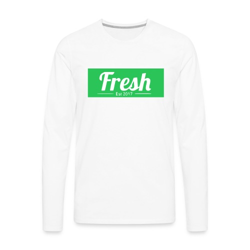 green logo - Men's Premium Long Sleeve T-Shirt