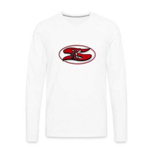 Sharyland-High-School-logo - Men's Premium Long Sleeve T-Shirt