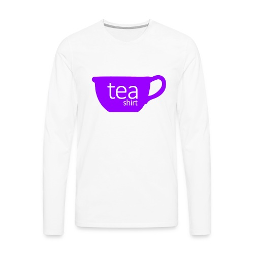 Tea Shirt Simple But Purple - Men's Premium Long Sleeve T-Shirt