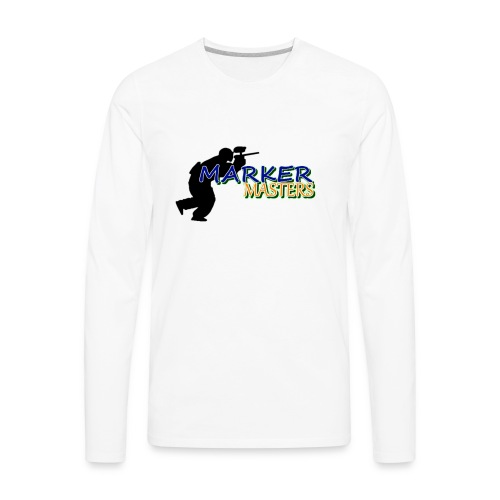 Marker Masters Logo - Men's Premium Long Sleeve T-Shirt
