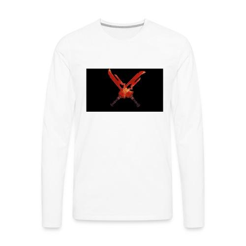 Hipixel Warlords Cross-Swords - Men's Premium Long Sleeve T-Shirt