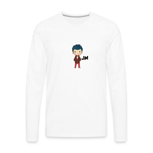 JM - Men's Premium Long Sleeve T-Shirt
