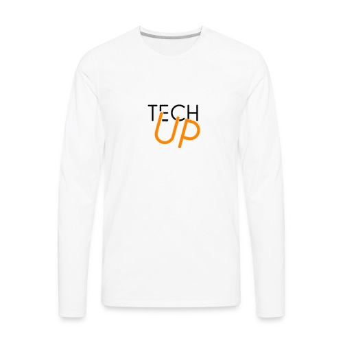 TechUp! - Men's Premium Long Sleeve T-Shirt